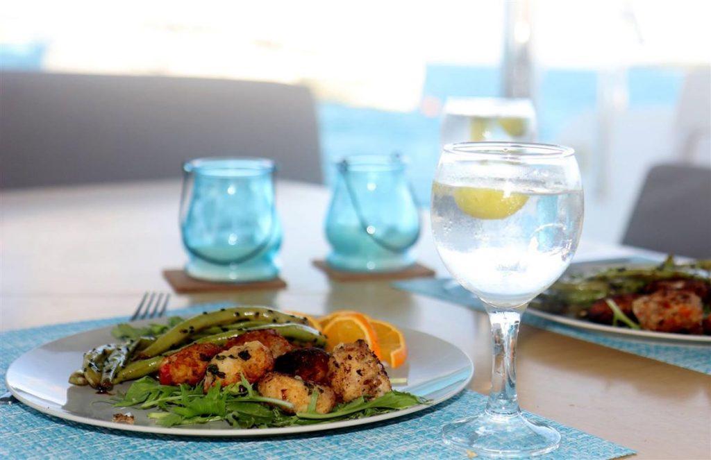Dinning aboard | Elysia Maldives Yacht Charters