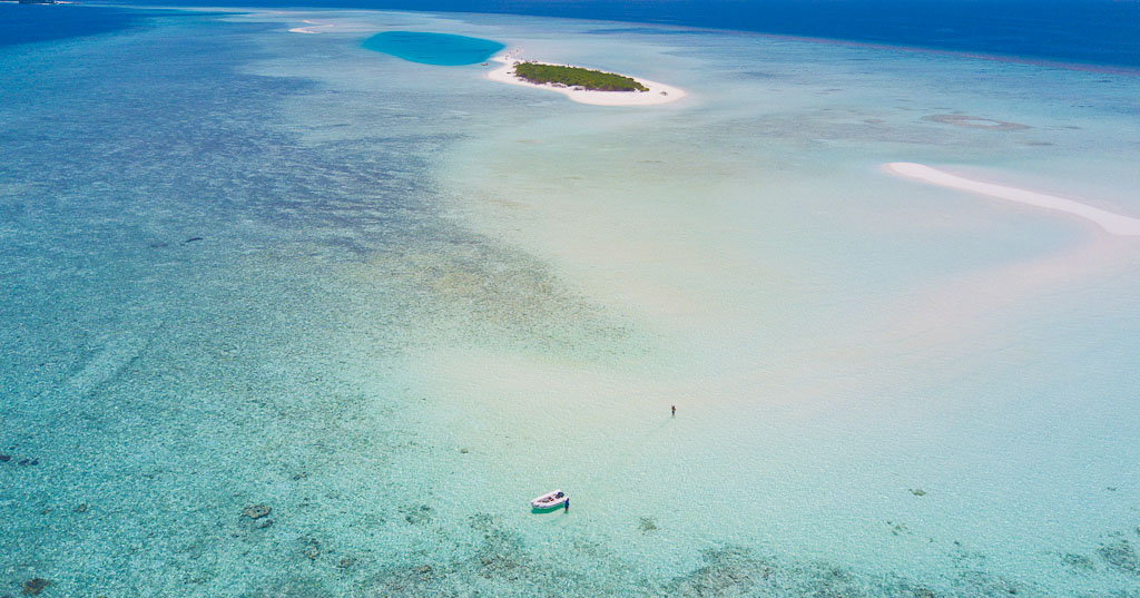 Drone footage of exploring the Maldives | Elysia Luxury Yacht Charters Maldives