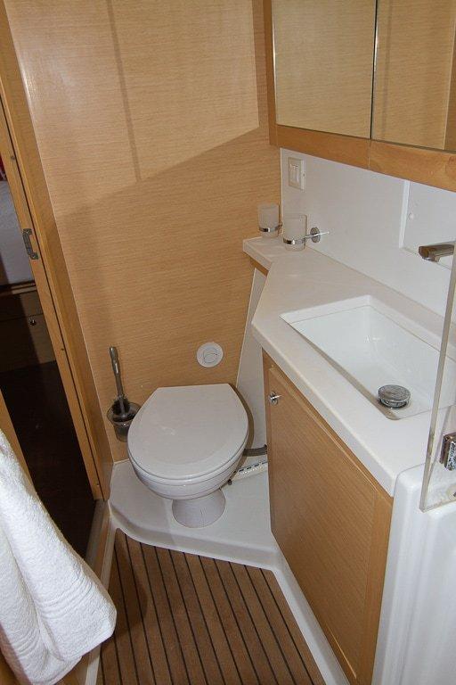 Ensuite Toilet | Elysia Yacht Charters