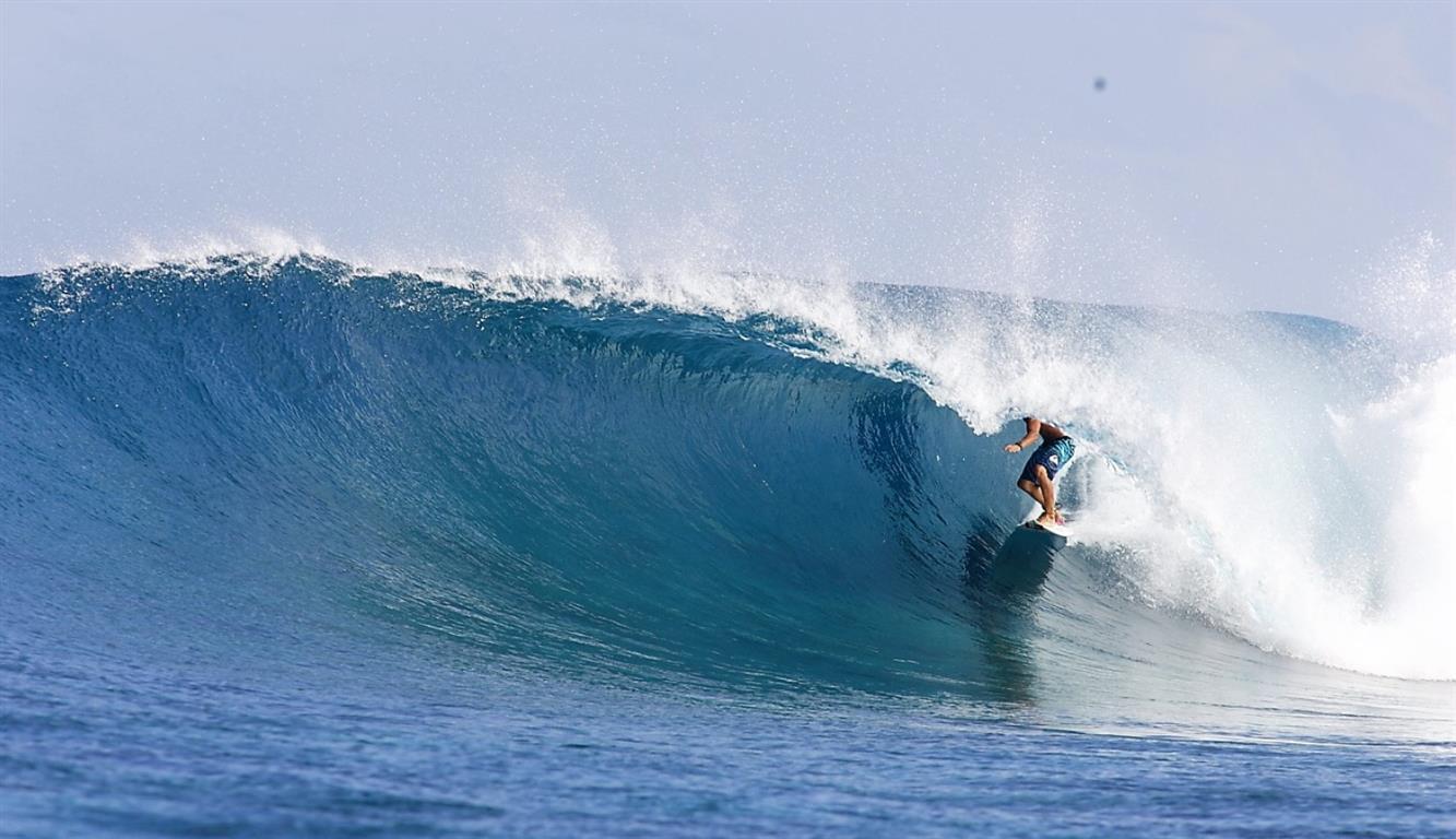 Get shacked | Elysia Surf Charters Maldives