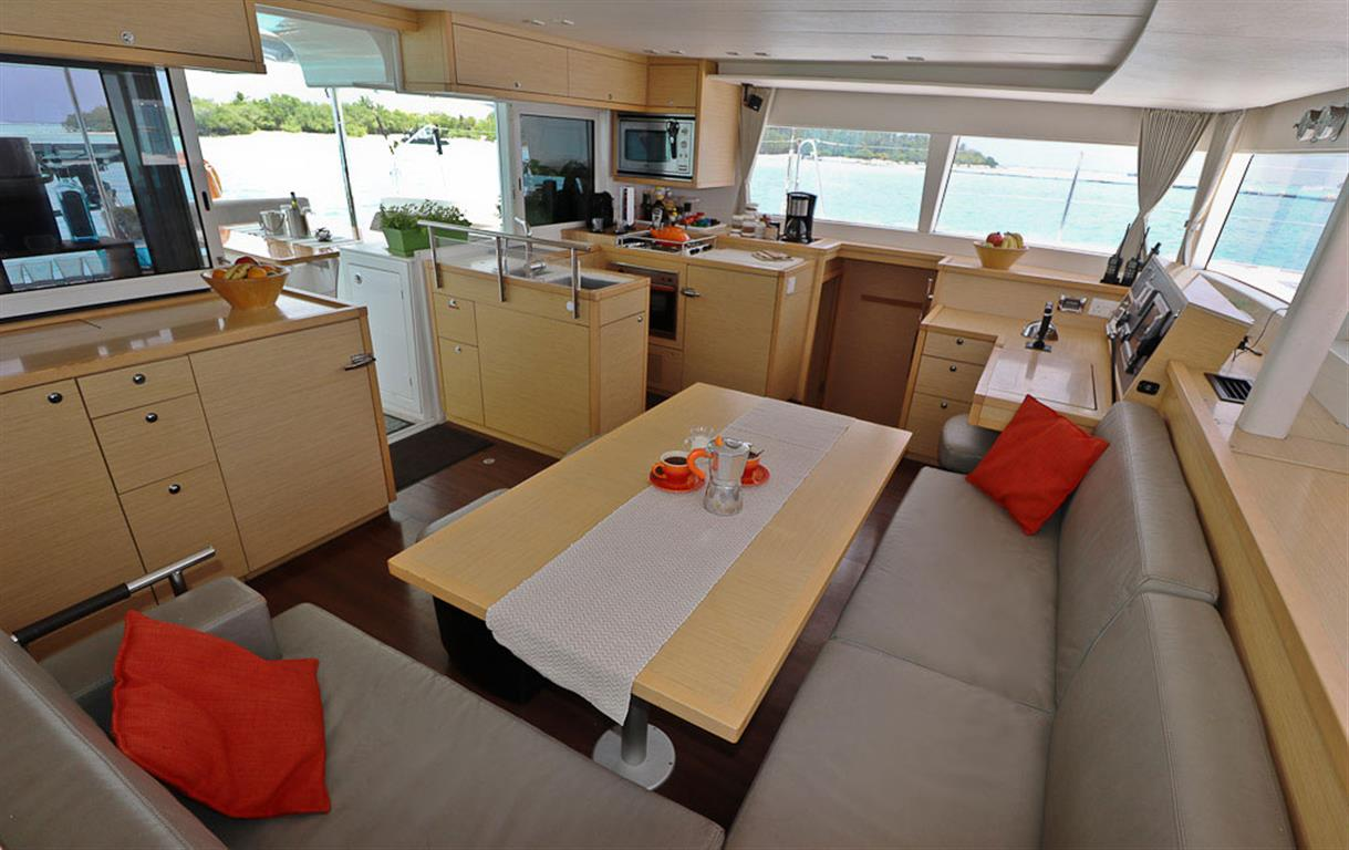Inside the Yacht | Elysia Private Yacht Charters Maldives