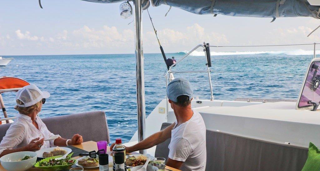 Lunch-Break... | Elysia Surf Charters Maldives