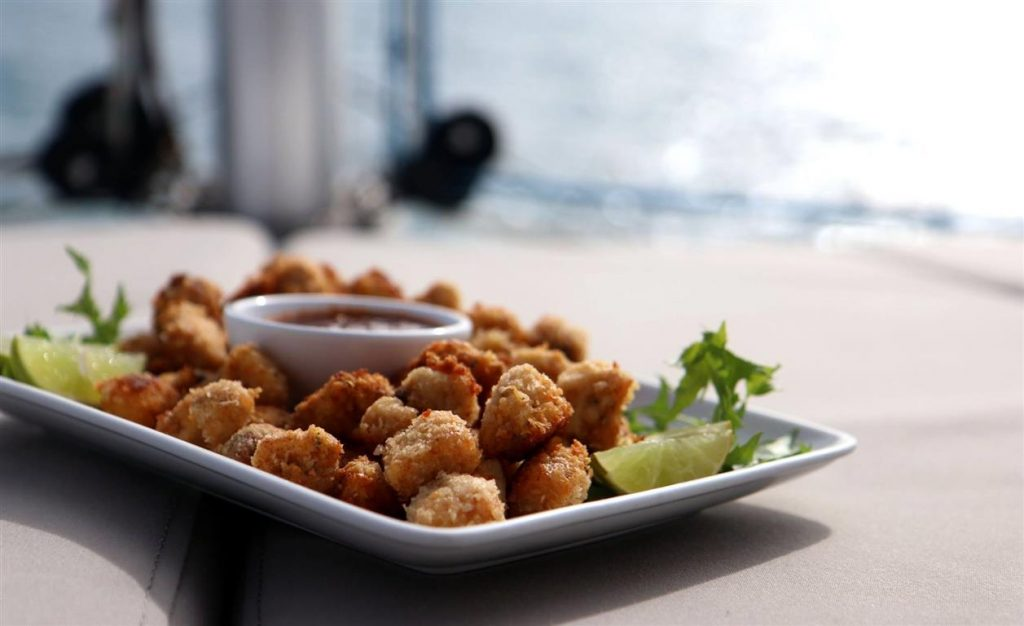 Snacks | Elysia Private Yacht Charters Maldives