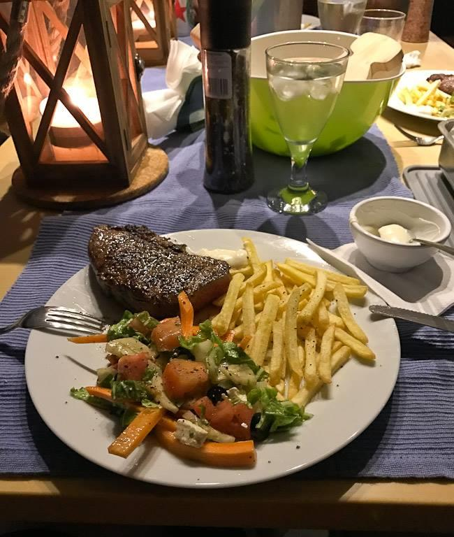 Steak and Chips | Elysia Maldives Yacht Charters
