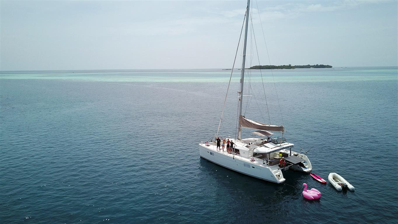Sailing the Maldives in Private Elysia Charters